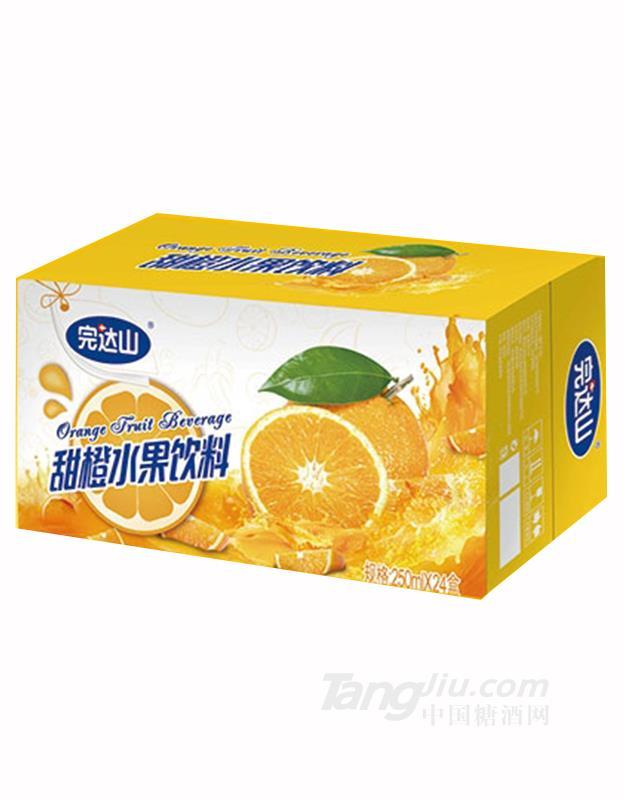 完达山甜橙水果饮料250mlx24盒
