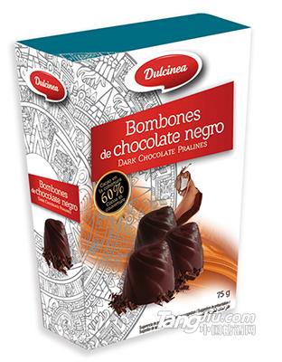杜尔西软心黑巧克力-75g