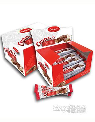 杜尔西榛子脆皮牛奶巧克力华夫饼干-20g