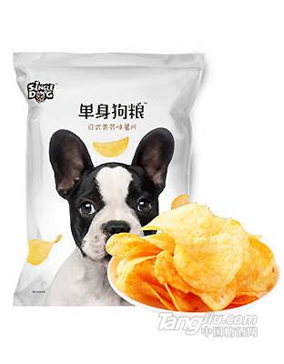 单身狗粮 日式青芥味马铃薯片71g
