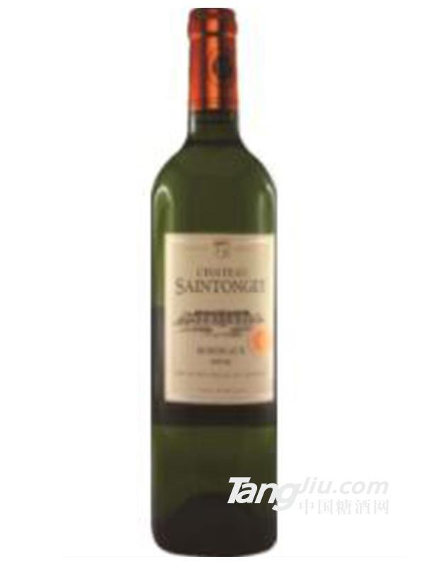 法国圣托日堡干白葡萄酒
