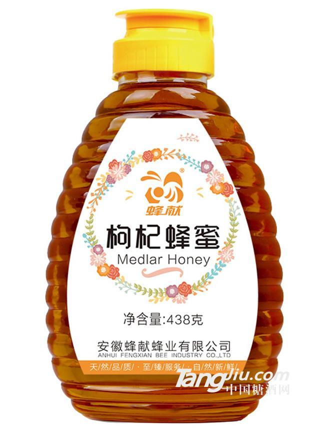 蜂献-枸杞蜂蜜-438g
