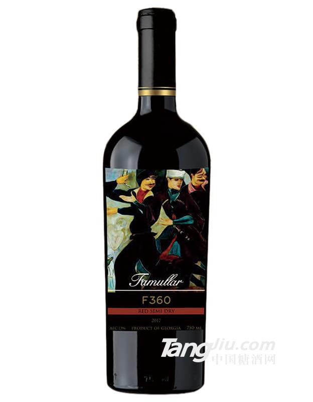 法慕莱F360干红葡萄酒