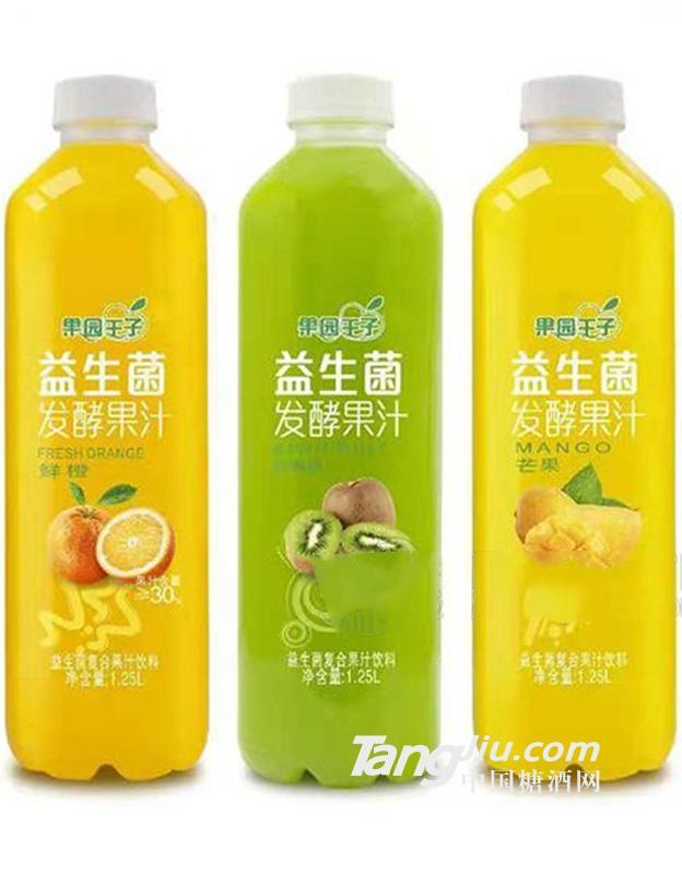 果园王子益生菌发酵果汁1.25L