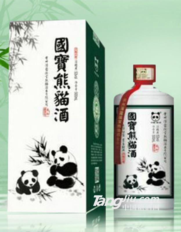 国宝熊猫酒洞藏原浆