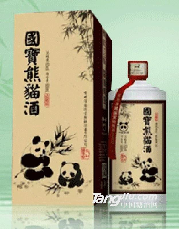 收藏级国宝熊猫酒