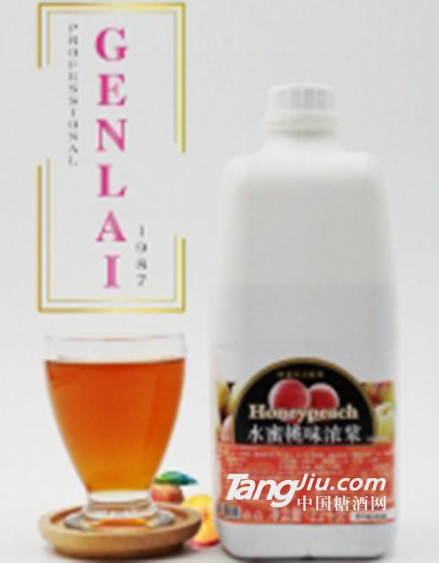 水蜜桃果汁浓浆2.2kg