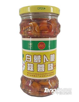 猴大大正宗湖南剁椒辣椒酱拌饭白萝卜脆蒜蓉酱280g