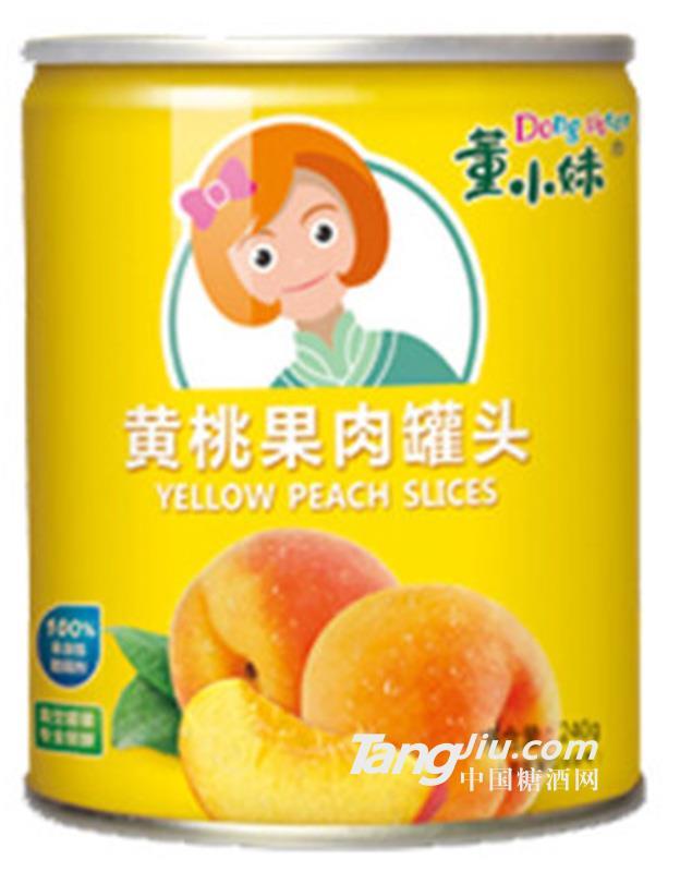 董小妹 水果黄桃罐头-240g