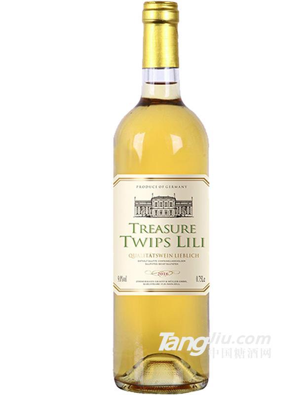 德国雷司令白葡萄酒750ML