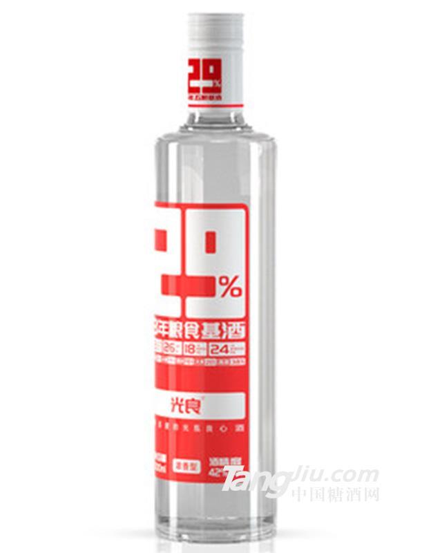 光良 29% 3年粮食基酒白酒