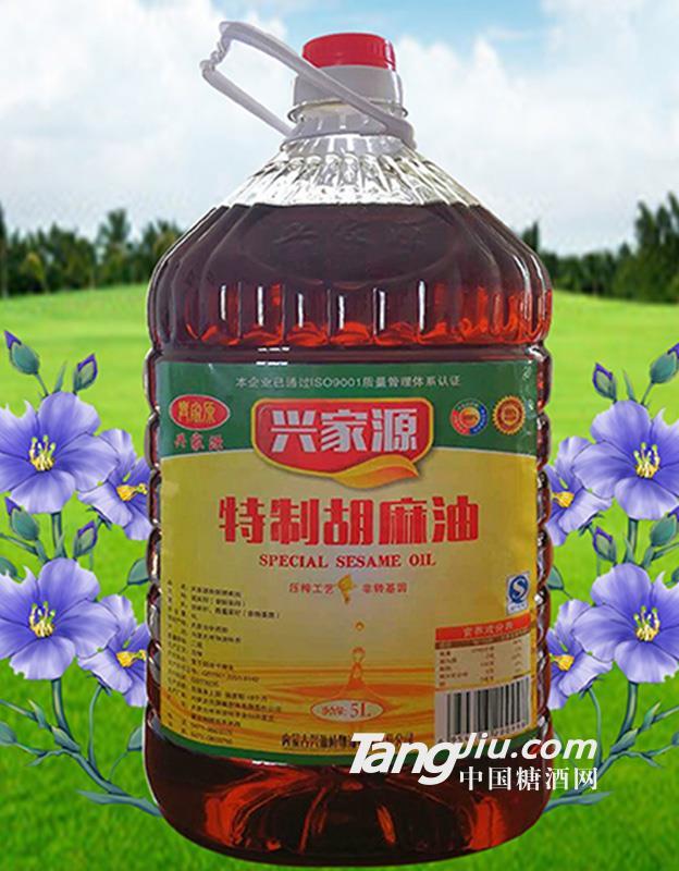 5L特制胡麻油(亚麻籽油)