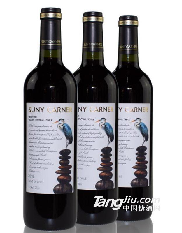 希卡娜干红葡萄酒 智利原瓶进口 750ml