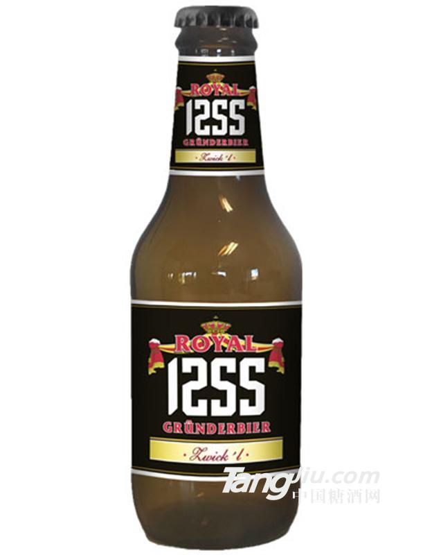 德国皇家1255黑啤250ml