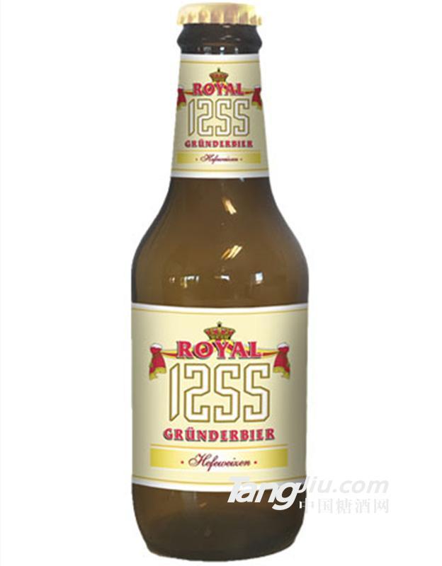 德国皇家1255白啤250ml