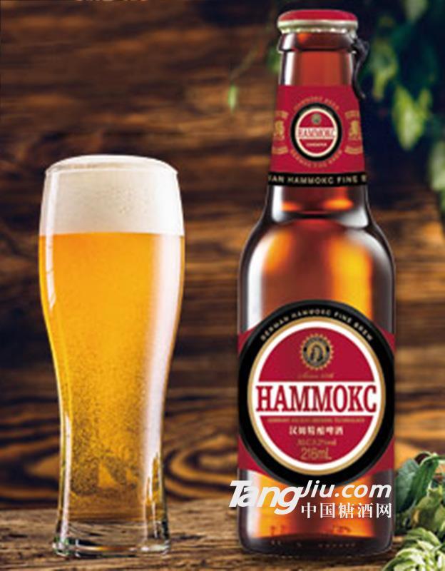 汉姆精酿啤酒(全麦精酿)216ml瓶装