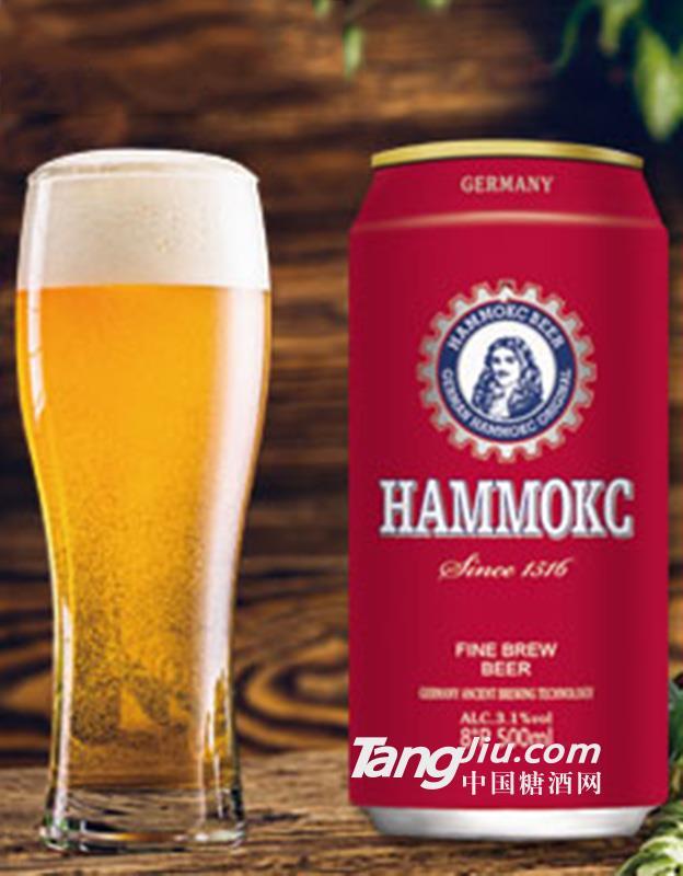 德国汉姆精酿啤酒 500ml罐装