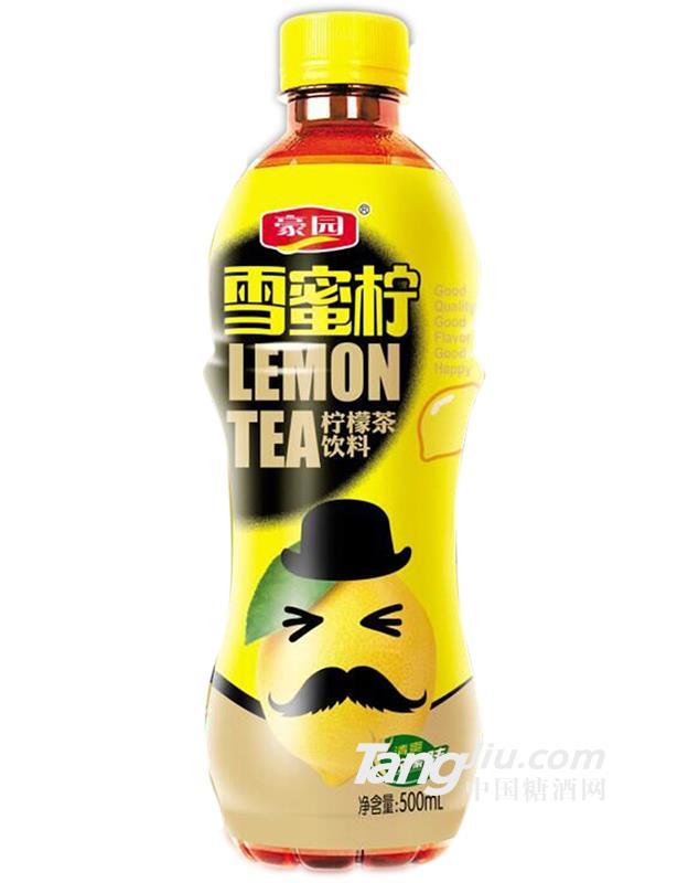 豪园柠檬茶饮料500ml