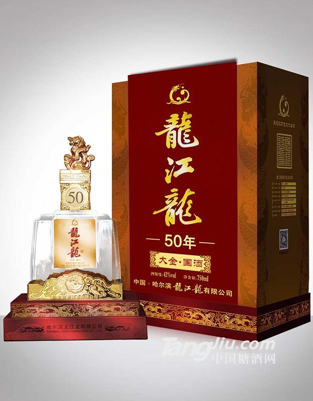 龙江龙五十年750ml