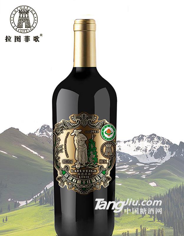 新疆有机红酒818-750ml