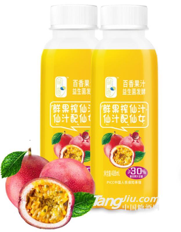 萌晨 益生菌发酵百香果汁428ml