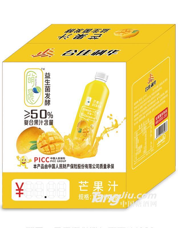益生菌发酵芒果果汁1.25lx6