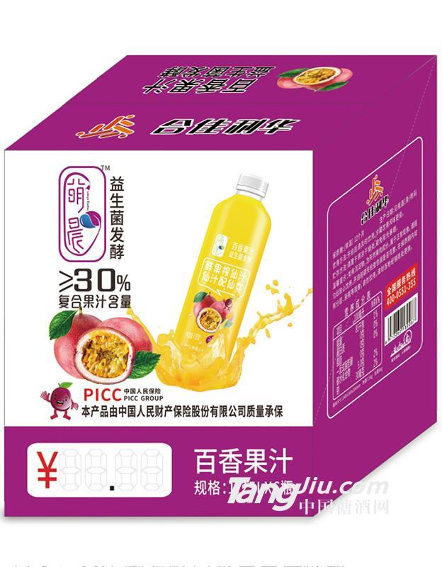 益生菌发酵百香果汁1.25Lx6