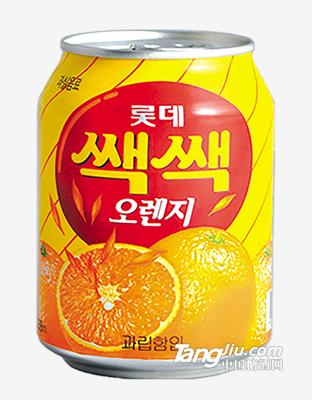 乐天粒粒橙汁饮料238ml