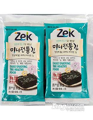 ZEK迷你传统海苔(十连包)20g