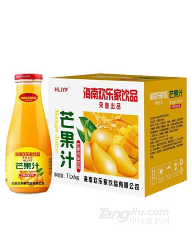 海南特种兵饮品芒果汁1L