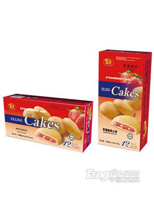 (和意)草莓酱夹心饼-144g