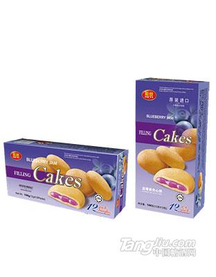(和意)蓝莓酱夹心饼-144g