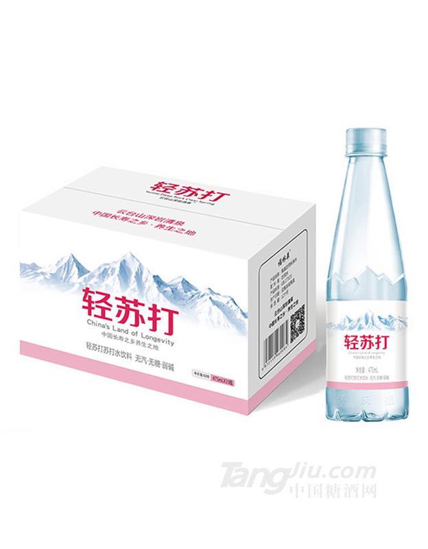 轻苏打水饮料475mlx20瓶