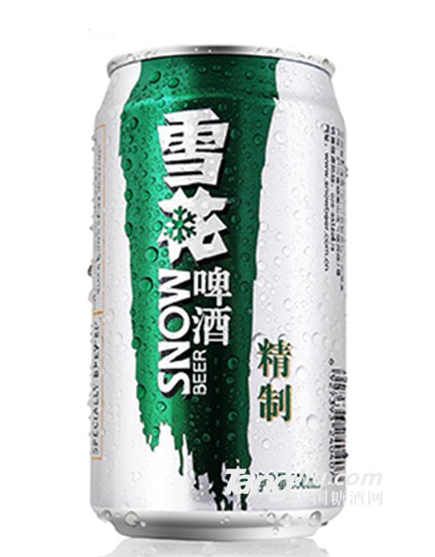精制雪花啤酒330ml