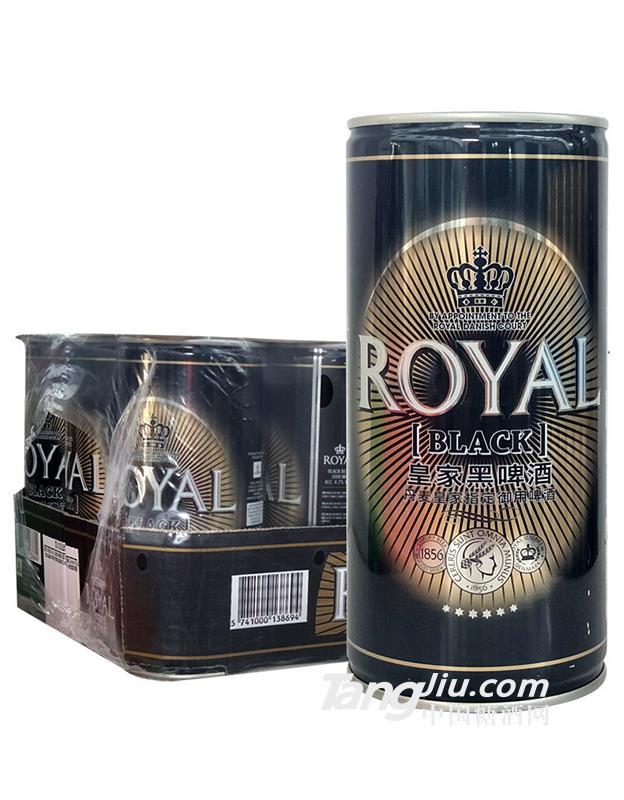 丹麦皇家黑啤酒-1L