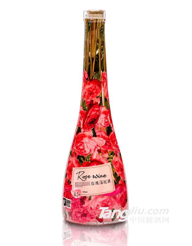 玫瑰荔枝酒-500ml