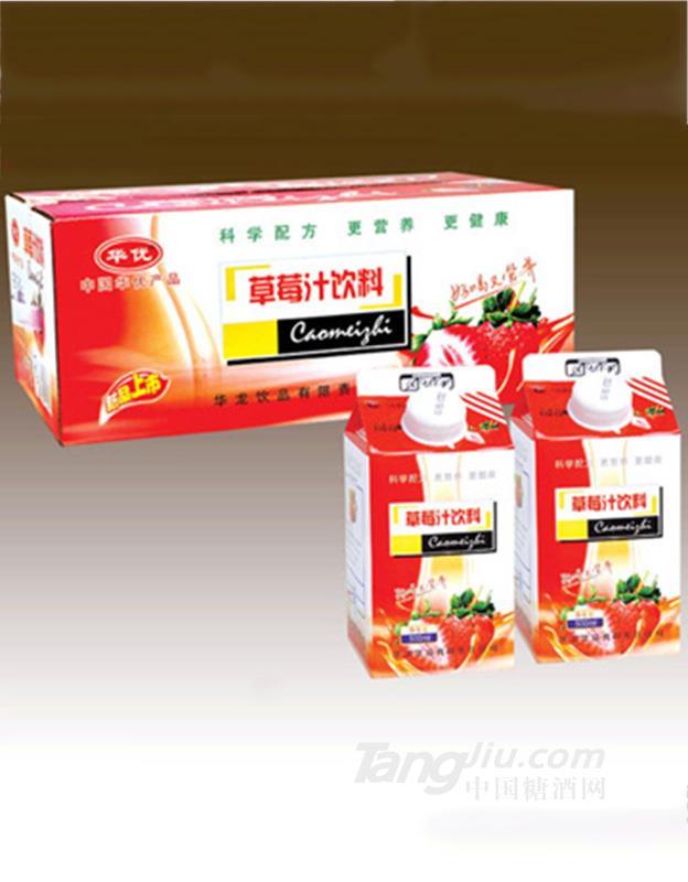 华龙草莓汁 500ml