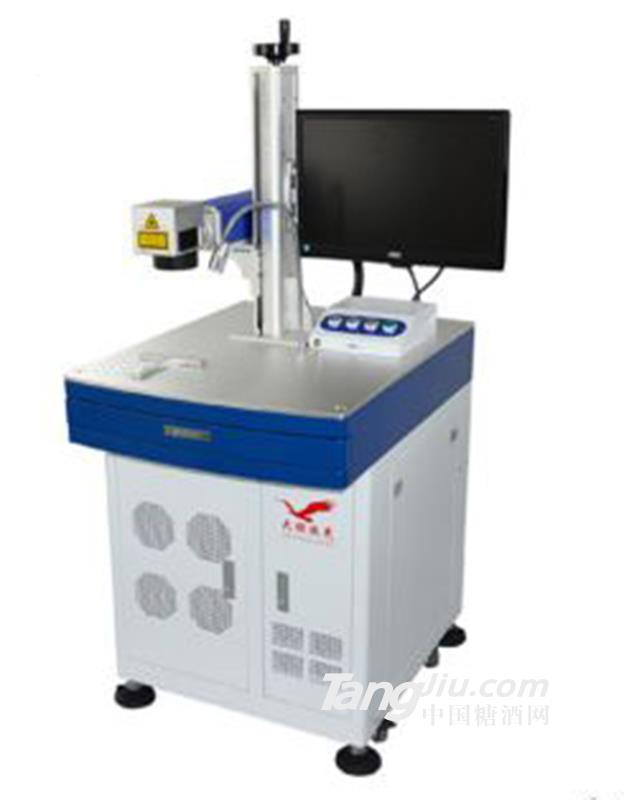 供应竹简木器工艺品20W激光打标机包装设备
