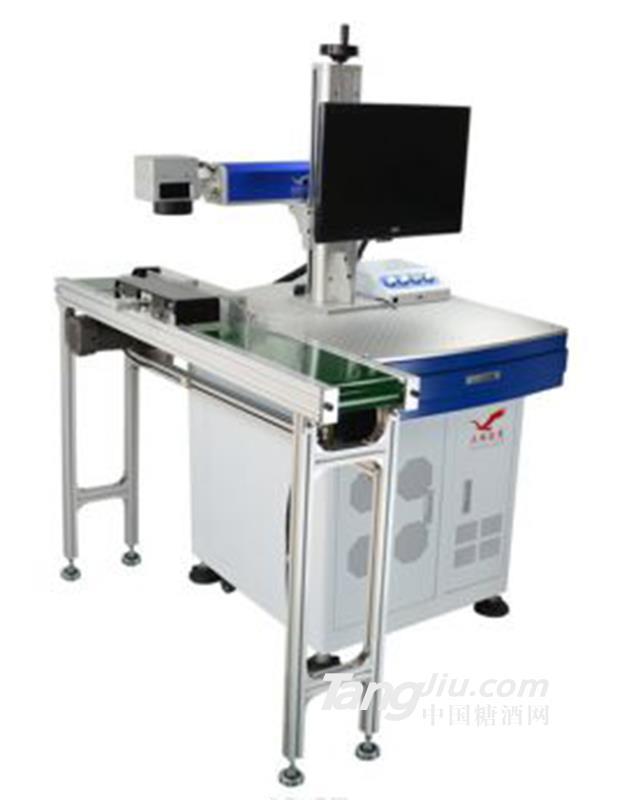 供应飞行式光纤激光打标机包装设备