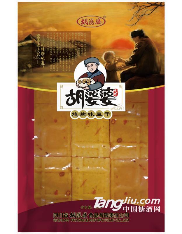 胡婆婆 烧烤味豆干(90g)