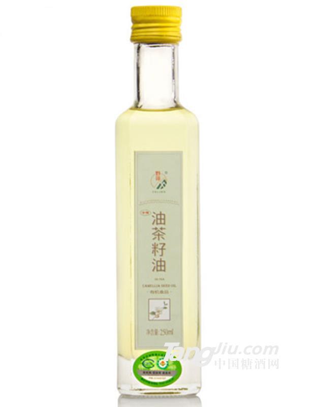 有机冷榨油茶籽油250ML