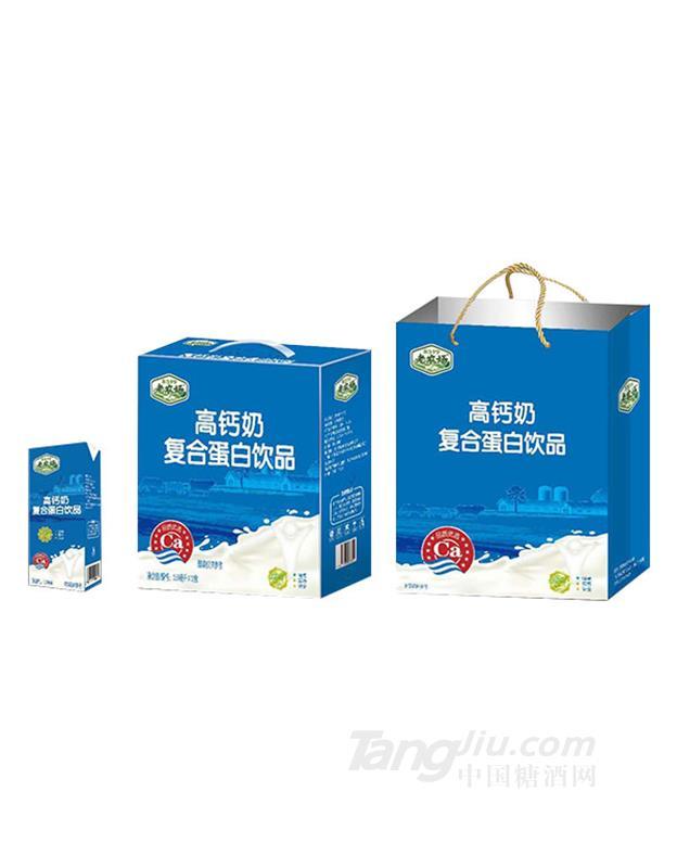 老农场高钙奶复合蛋白饮品礼盒