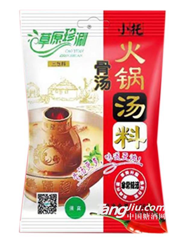 草原珍涮骨汤辣汤火锅汤料155g