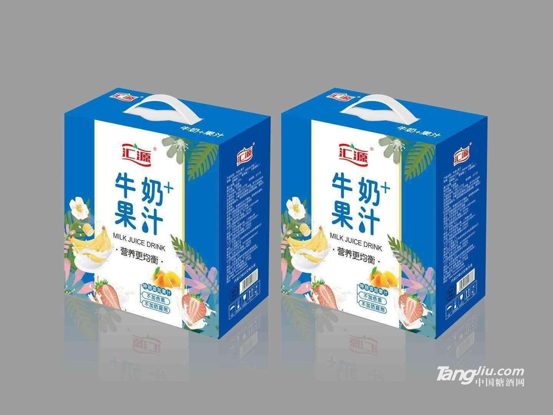汇源牛奶+果汁