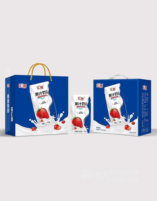 汇源果汁奶饮品-草莓味