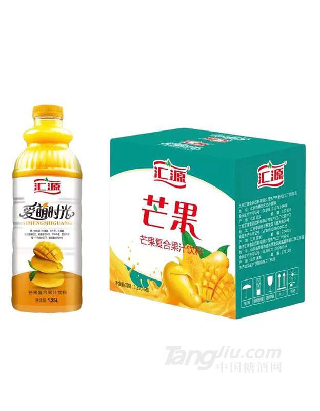 汇源芒果复合果汁饮料