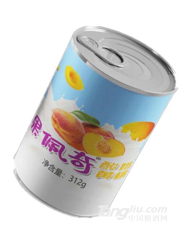 果佩奇黄桃酸奶