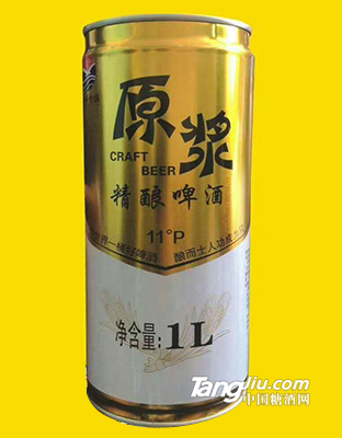 茅台原浆精酿啤酒11°1L