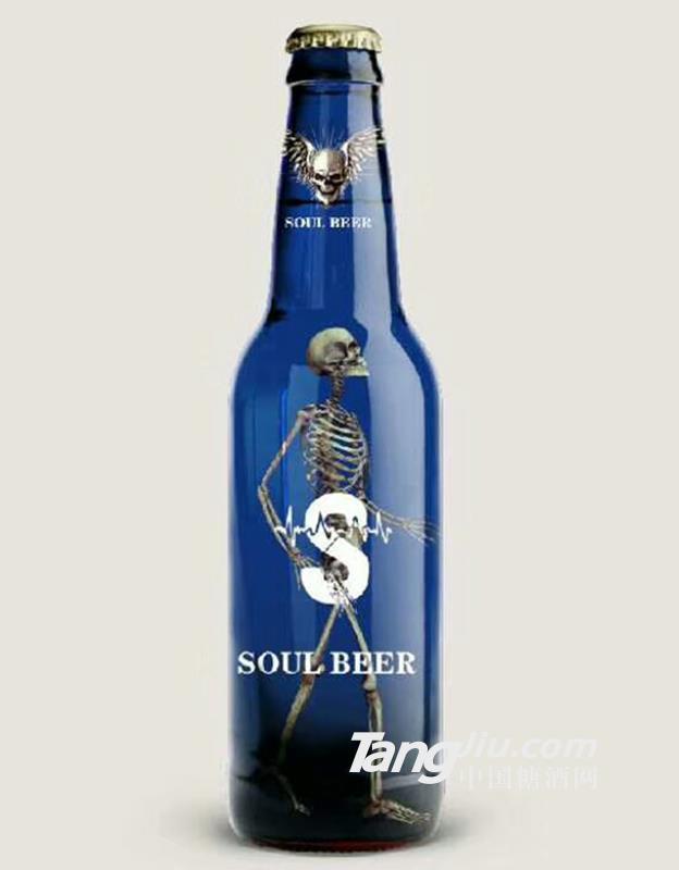 欢乐灵魂啤酒(蓝)330ML