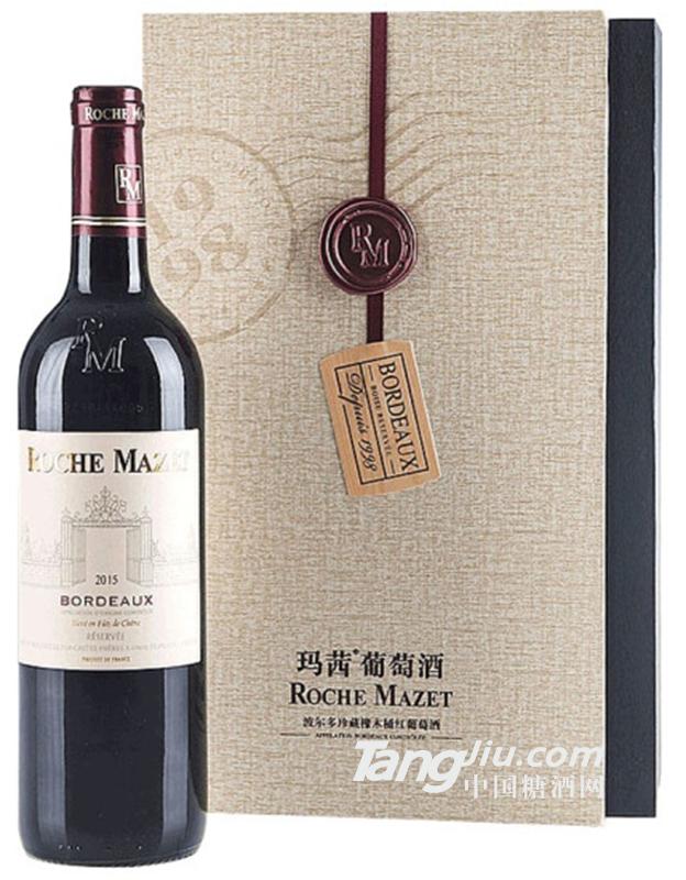 卡思黛乐castel玛茜波尔多珍藏橡木桶红葡萄酒